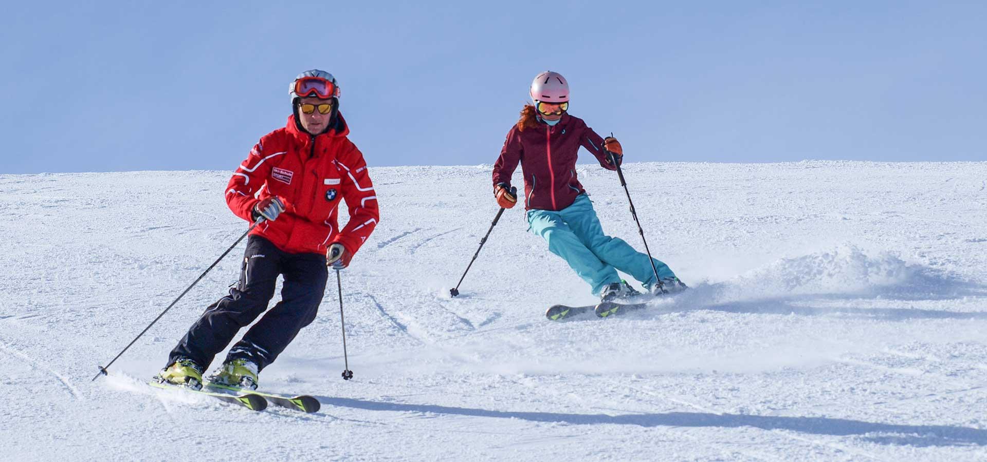Skilaufen in Seefeld
